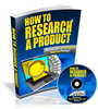 Thumbnail How To Research A Product