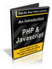 Thumbnail An Introduction To Php And Javascript - Step By Step Video Lessons