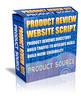 Thumbnail Product Review Web Site Script