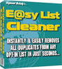 Raymond McNallys E@sy List Cleaner