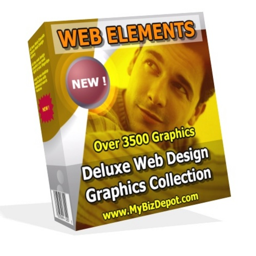 Product picture WEB ELEMENTS Web Design Graphics Collection