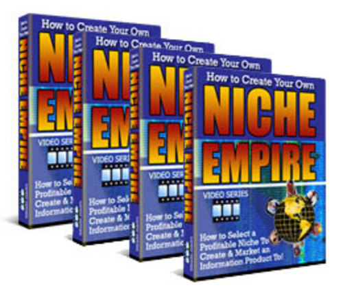 Product picture How To Create Your Own Niche Empire - Video Tutorials Series
