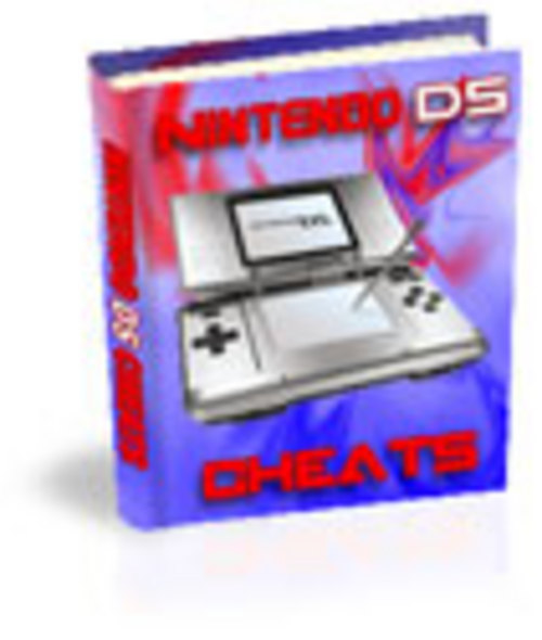 Product picture Nintendo DS cheats eBook