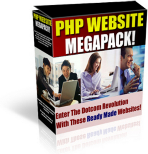 Product picture Php Website Scripts Megapack with Master Resell Rights