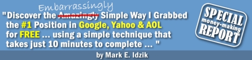 Product picture Simple Way I Grabbed a # 1 Ranking Spot On Google, Yahoo and AOL
