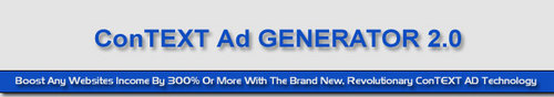 Product picture ConTEXT Ad Generator 2 - Multiply Your Affiliate Earnings