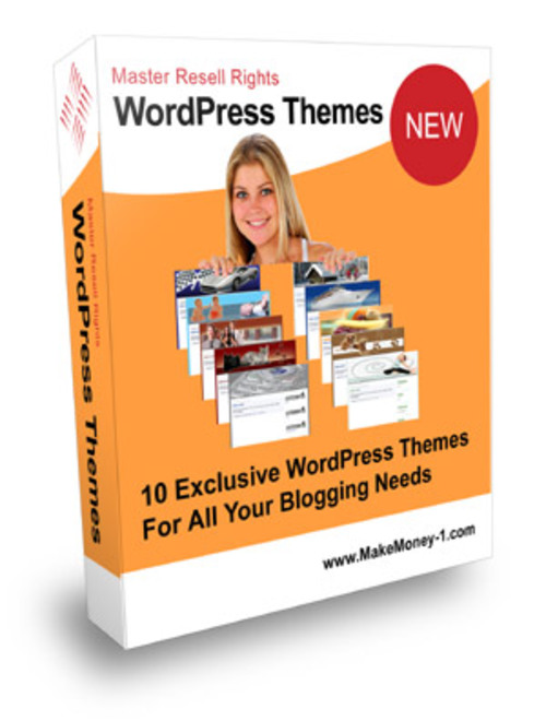 Product picture Exclusive Wordpress Themes Vol 1 - with Master Resell Rights