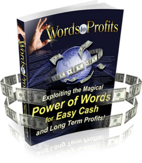 Product picture Words To Profit