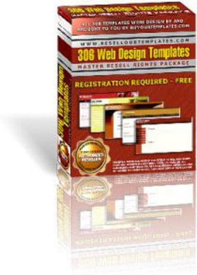 Product picture 306 Website Design Templates - MRR