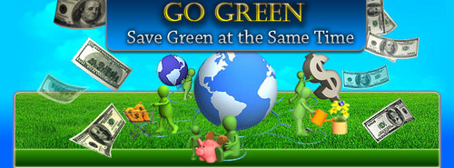 Product picture Go Green - Save Green At The Same Time