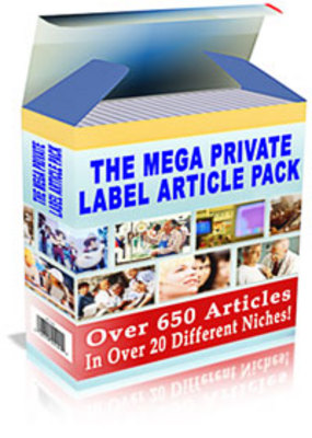 Product picture The Mega Private Label Article Pack