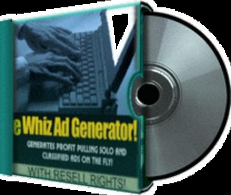 Product picture eWhiz Ad Creator V.1 Plus Bonuses