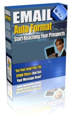 Product picture Email Auto Format - Get Your Email Past The SPAM Filters