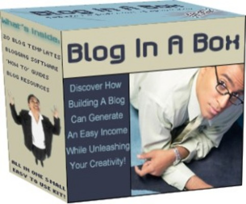 Product picture Blogging Kit Helps Build Your Blog With Style