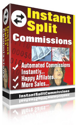 Product picture Instant Split Commissions - Automated Comissions Instantly
